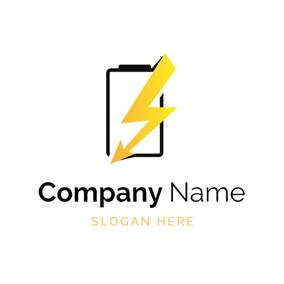Télécharger photo battery logo png
