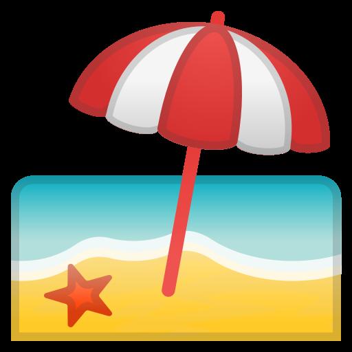 Télécharger photo beach emoji png