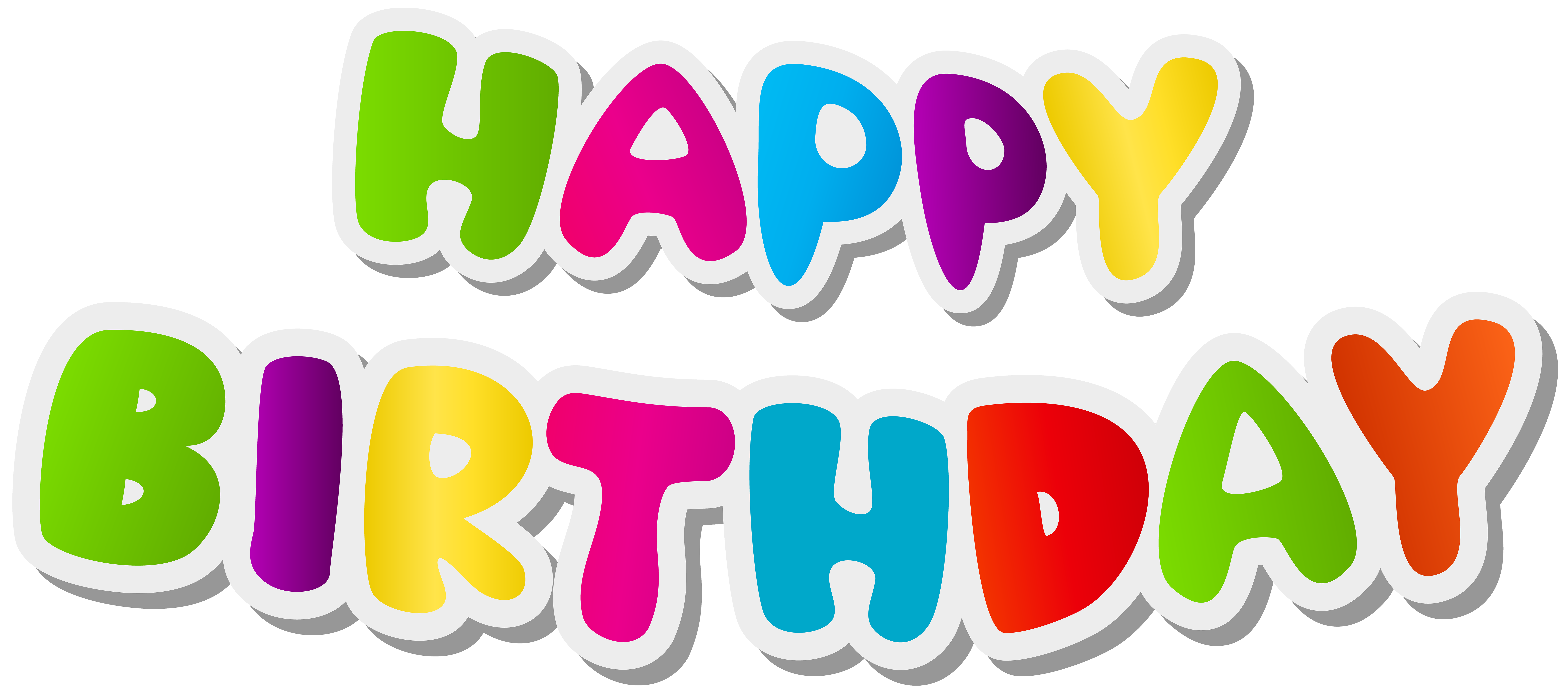 Télécharger photo birthday text png