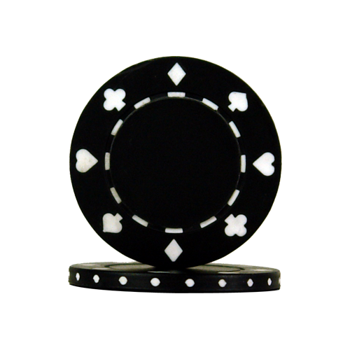 Télécharger photo black poker chip png