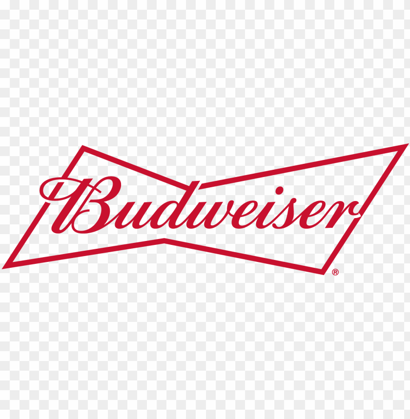 Télécharger photo budweiser logo black and white png