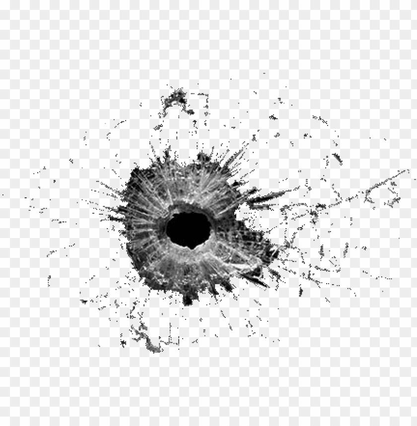 Télécharger photo bullet hole transparency png