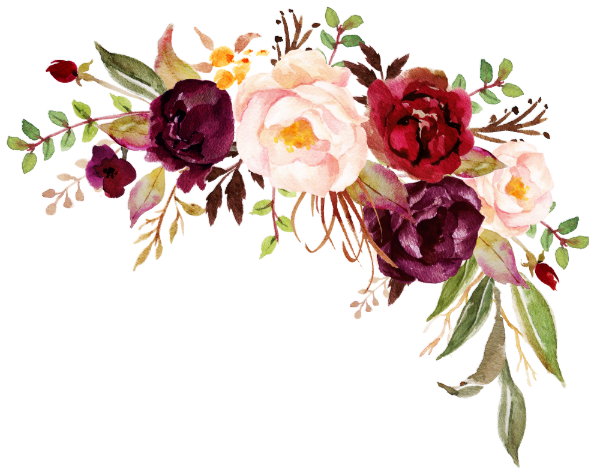 Télécharger photo burgundy flowers png