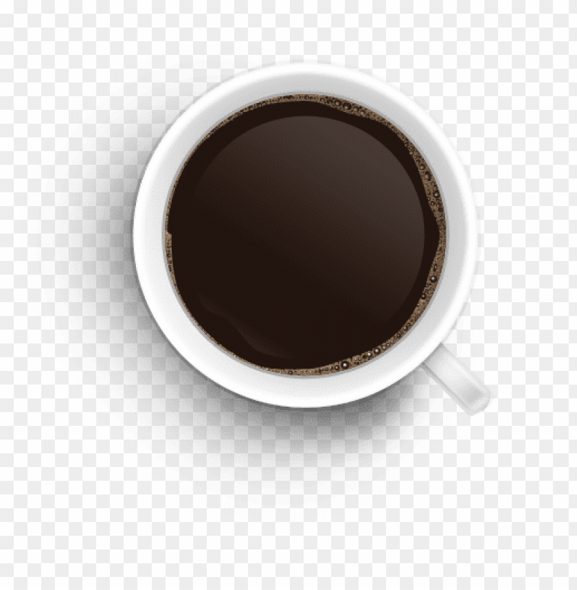 Télécharger photo coffee top view png