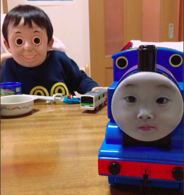 Télécharger photo cursed thomas the tank engine png