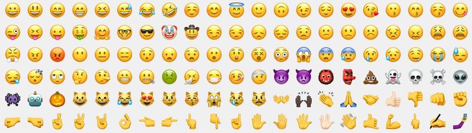 Télécharger photo emoji sprite sheet png