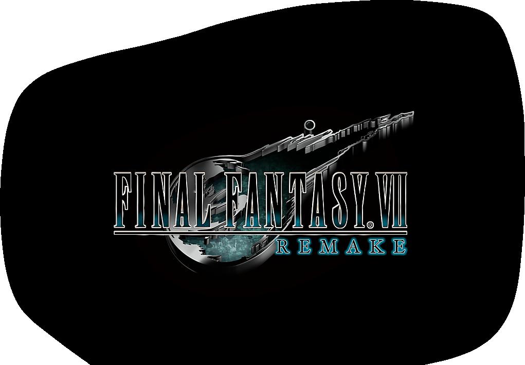 Télécharger photo final fantasy 7 remake logo png