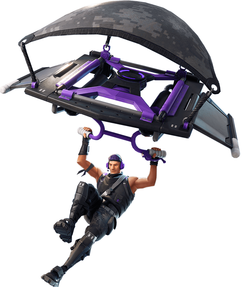 Télécharger photo fortnite parachute png