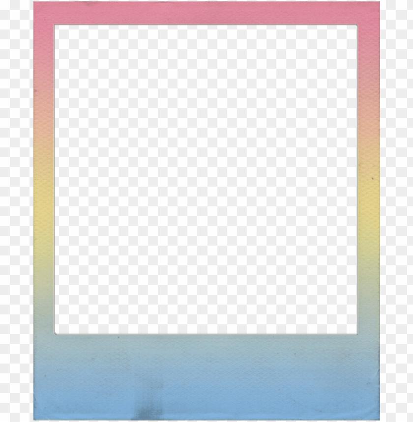 Télécharger photo frame polaroid png