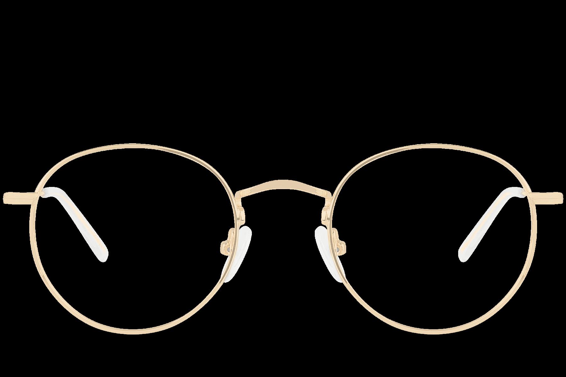 Télécharger photo gold glasses png