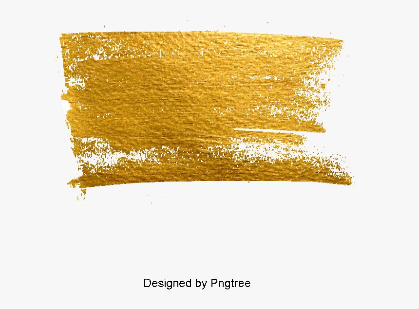 Télécharger photo gold paint brush stroke png