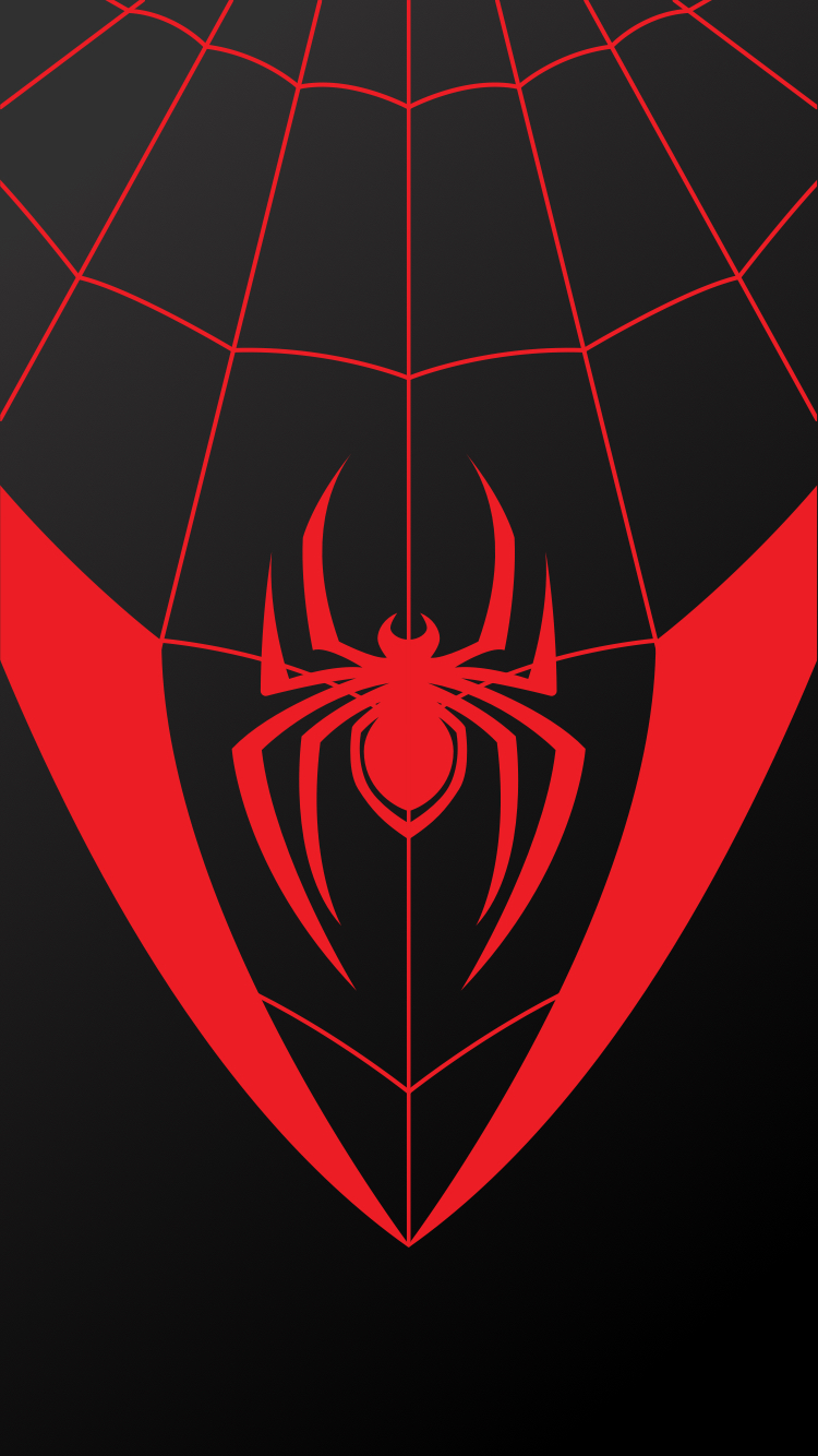 Télécharger photo miles morales spiderman logo png
