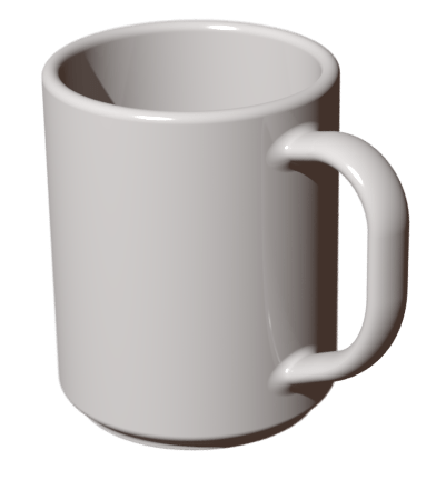 Télécharger photo mug transparent png