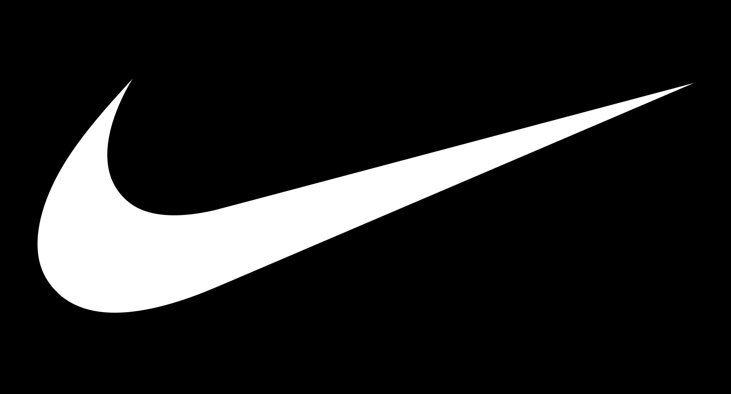 Télécharger photo nike logo white transparent png