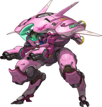 Télécharger photo overwatch dva png