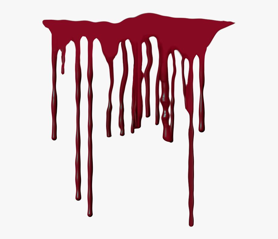 Télécharger photo realistic blood drip png