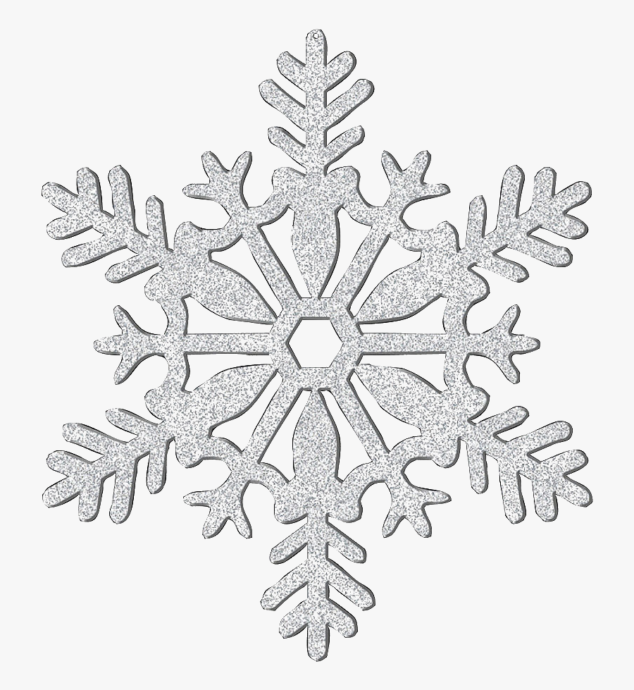 Télécharger photo silver glitter snowflake png
