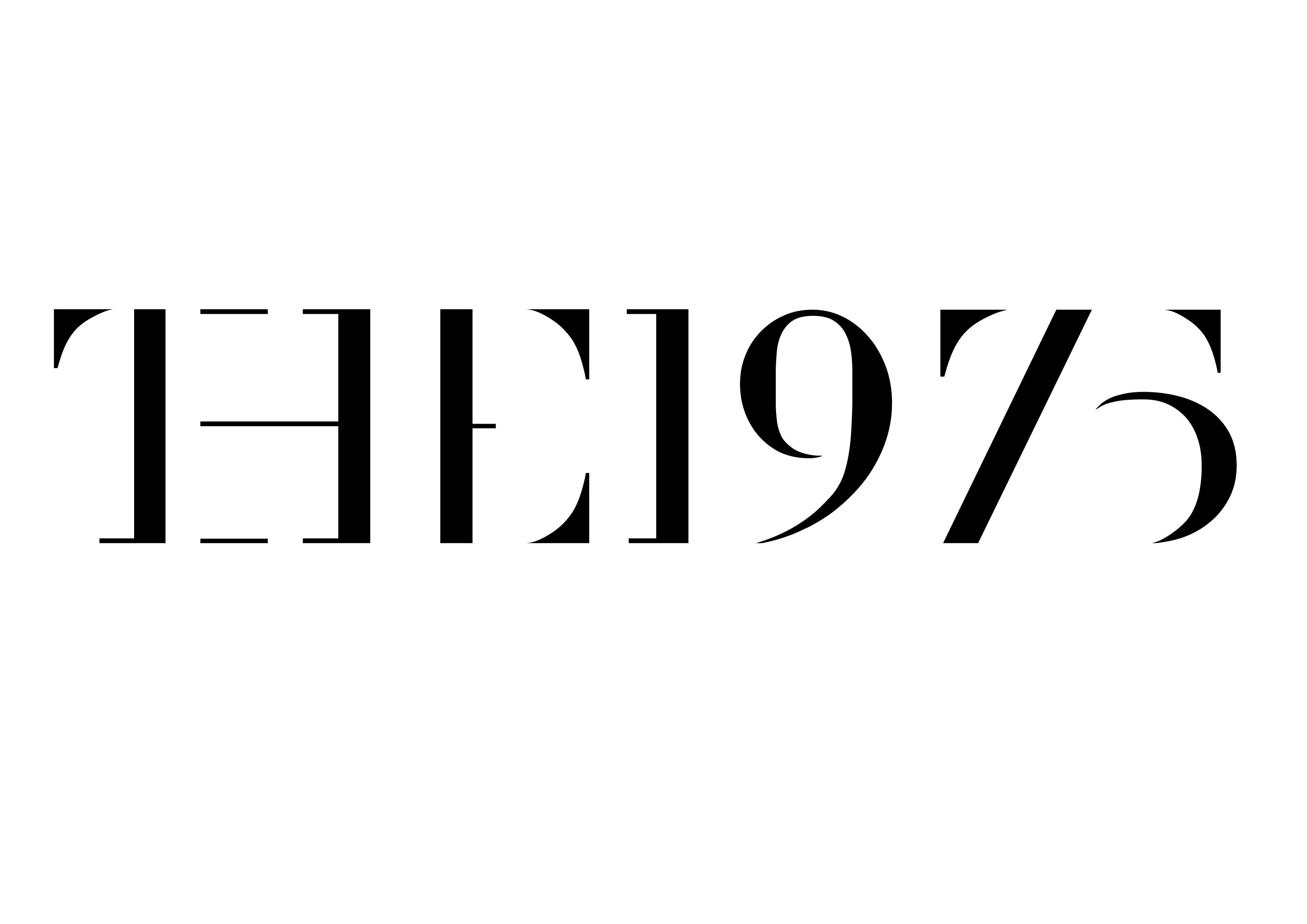 Télécharger photo the 1975 logo png
