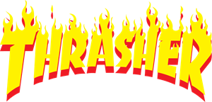 Télécharger photo thrasher flame logo vector png